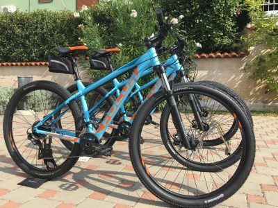 rent a bike fazana villa mihaela