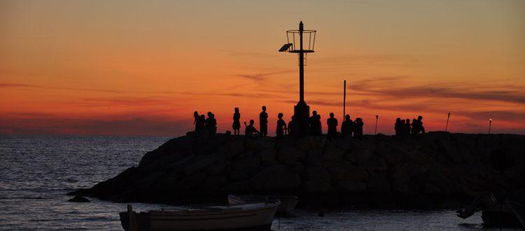 Fazana - sunset istria