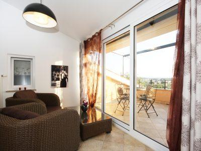 apartment with sea wiev fazana