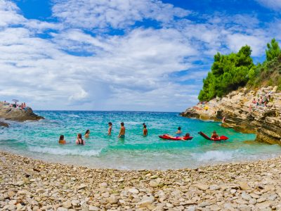 Beaches in Istra