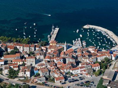 Fazana Istria air photo